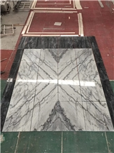Silver Statuario Marble Slabs Wall Flooring Tiles