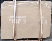 Turkey Danish Cream Marble Slabs Flooring Tiles