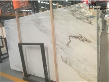 Bella White Marble Slab, New Marbella White Marble