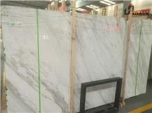 Jazz White Marble, Volakas Marble Slab