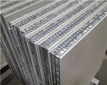 Honeycomb Stone Panels Backed Limestone Panel