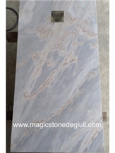 Shower Tray 158x80x3cm in Satin Palissandro Blue