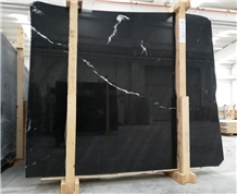 Alexandre Black Marble, Deep Black Turkish Marble