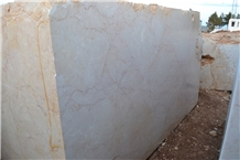 Dalya Beige Marble Blocks, Dalya Crema Marble, Sivrihisar Beige Marble Blocks