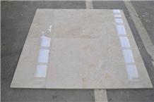 Honey Light Beige Marble Tiles