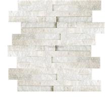 White Quartzite Wall Panel 36x10cm
