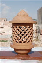 Jodhpur Gold Sandstone Lamps and Lamp Posts