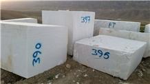 Afghan White Marble-Afghan Morvarid Marble Blocks