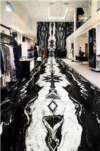 Bhainslana Black Marble Wall and Floor Tiles