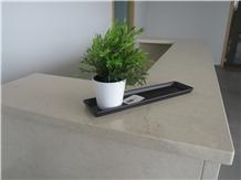 Rosal Cv2 Limestone Reception Counter