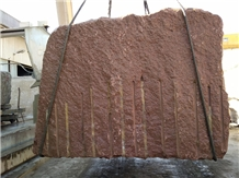 New Red Aswan Granite Blocks