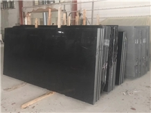 Platinum Black Granite ,China Black Granite Slab