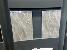 Royal Rose Grey Marble Tiles, Slabs