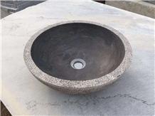 Bluestone Basin,Sink,Wash Bowl,L828,Honed,Polish