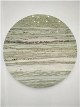 Wooden Marble Table Top