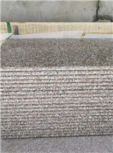 Wulian Flower Granite Polished Steps G361 Stairs