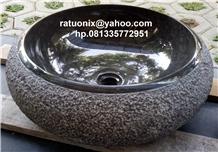 Sink Black Marble