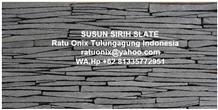 Wall Cladding Susun Sirih Slate Stone