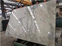 Sicilia White Gey Marble Tiles Slabs