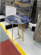 Semi Precious Round Stone Table Top