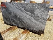 Arabescato Orobico Grigio/Nero - Grey/Black Iris- Arabescato Orobico Marble
