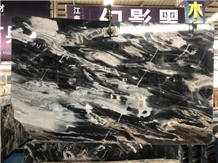 China Jungle Black Marble for Wall and Floor