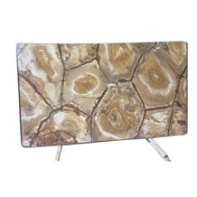 Brazil Gold Agate Quartz Stone Tiles