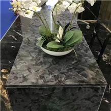 Brazil Versace Black Granite Kitchen Island