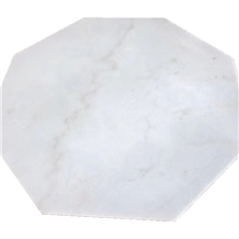 China Guangxi White Marble Coffee Table Top