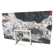 Chinese Galaxy Blue Exotic Marble Slab for Tiles