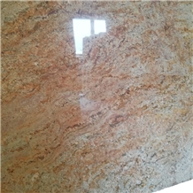 Indian Orlando Gold Granite Slabs and Tiles
