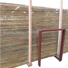Italian Silver Travertine Slabs and Tiles