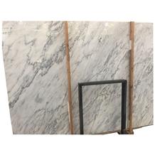 Low Price Fine Lines Snow White Marble Tiles