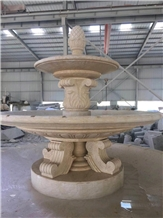 Modak Yellow Sandstone Fountain