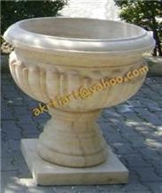 Sandstone Flower Pot