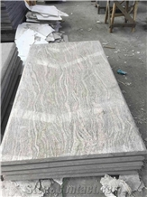 China Yellow Juparana Granite Tombstones