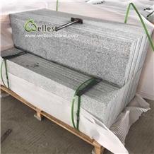 Cheap Grey Granite Bullnose Stairs Treads Risers
