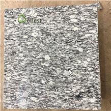 China White Wave Polished Granite Flooring Tiles