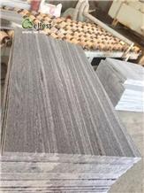 G302 Nero Grey Santiago Granite Paving Slabs