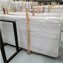 Polished Rome White Marble Slab & Tile