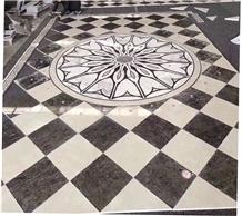 Hotsale Waterjet Marble Tiles Design Floor Pattern