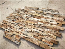 Mountain Rustic Ledgestone Fireplace Veneer Panel