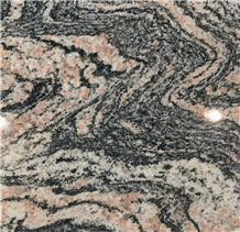 New China Multicolor Red Granite Slabs and Tiles