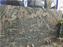 New Granite China Multicolor Red Juparara Slabs