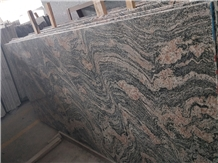 New Juparana Pink Grain Multicolor Granite Slabs