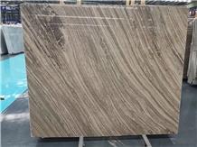 Kylin Wood Marble Slab,Kylin Grey Serpegiante Tile