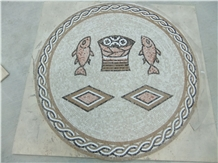 Marble Mosaics Art,Luxury Medallions,Borders,Carpet