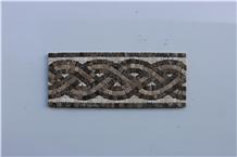 Marble Mosaics,Medallions,Honed Mosaic Borders