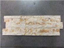 Spain Crema Marfil Split Brick Marble Mosaics