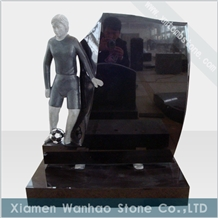 China Granite Football Custom Monument Headstones